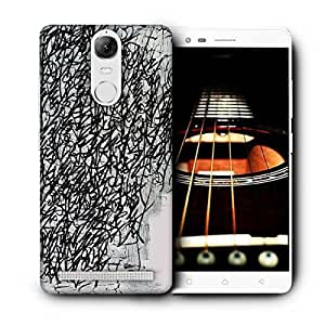 Snoogg Graffiti Incase Printed Protective Phone Back Case Cover For Lenovo K5 Note