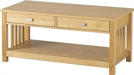 Ashmore 2cassetto tavolino in frassino