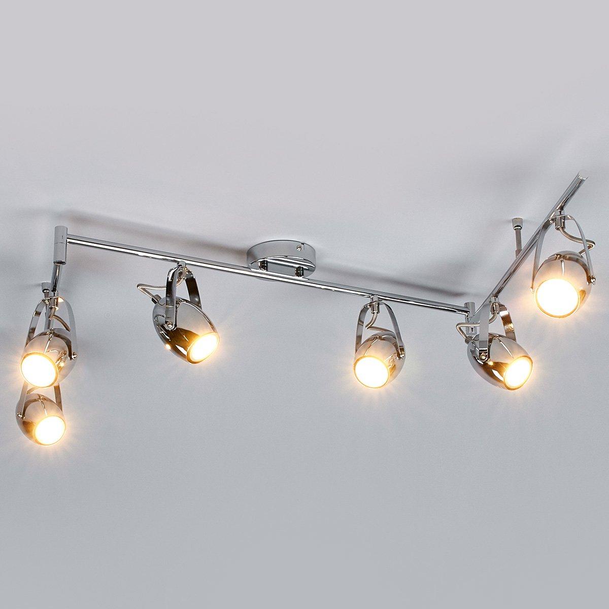 LED-Deckenleuchte Catrin Deckenlampe Deckenstrahler GU10 Strahler ...