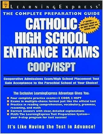 Catholic HS Coop/hspt 2e