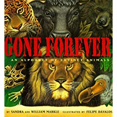 Gone Forever An Alphabet Of Extinct Animals
