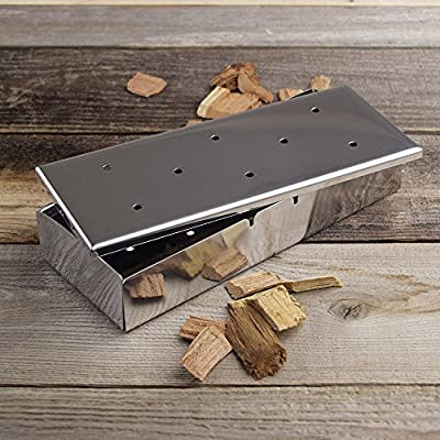 Barbecue Wood Chip BBQ Smoker Box by Callow Retail
