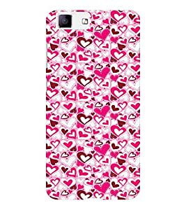 EPICCASE Mad hearts Mobile Back Case Cover For Vivo X5 (Designer Case)