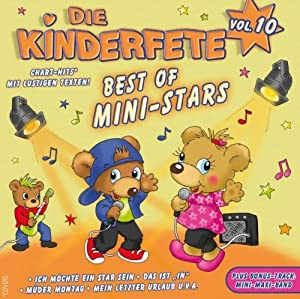 Die Kinderfete Vol.10 Best of Mini Stars