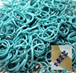 BlueDot Trading 2400-Piece Teal Rubbe...