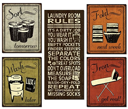 trendy-extremely-popular-humorous-laundry-room-rules-and-laundry-sign-posters-one-8x18in-poster-prin