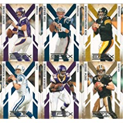 2010 Panini Epix Football Series Complete Mint 100 Card Basic Hand Collated Veteran... by Panini