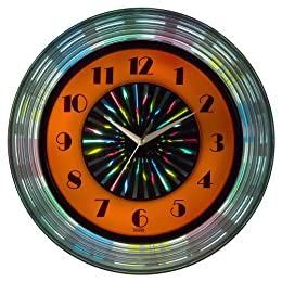 Target - Shan Red Neon Red Wall Clock - $27.99