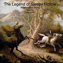 The Legend of Sleepy Hollow Audiobook by Washington Irving Narrated by Curtis Sisco