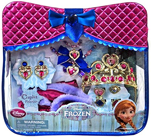 Disney Frozen Dress Up Toy Anna 10 Piece Accessory Set