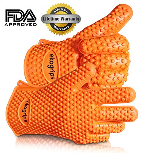 Highest Rated Heat Resistant Silicone BBQ Gloves
