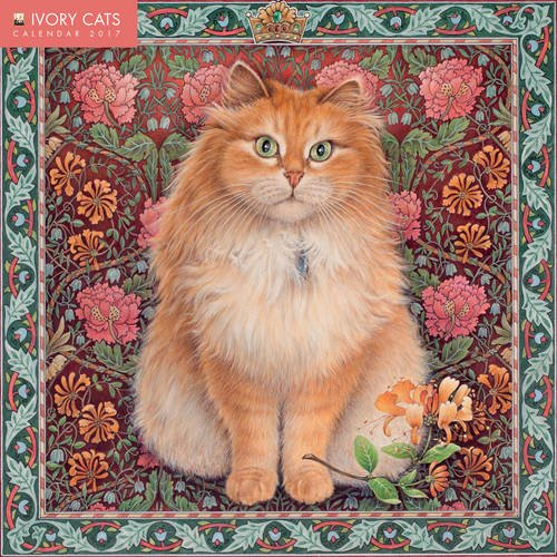 ivory-cats-wall-calendar-2017