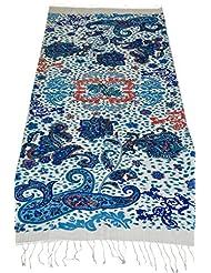 Elabore Women's Printed Stole - Multicolored - B00NHKZPFU