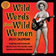Wild Words of Wild Women Calendars