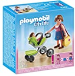 Playmobil 5491 City Life Mother with...