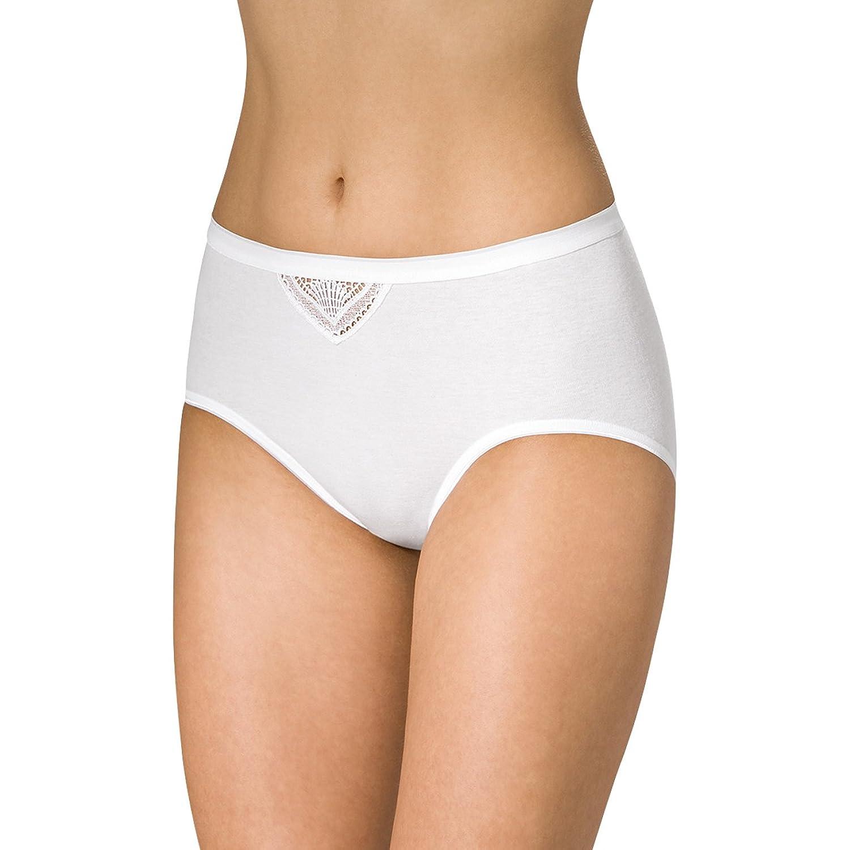 SPEIDEL Damen Taillenslip Nicolina 5er Pack – Basic 1263 100% Baumwolle, Farbe Weiss, Gr. 38-50 online bestellen