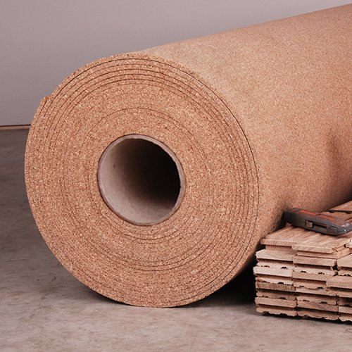 Manton Natural Cork Underlayment - 4' x 50' x 6mm - Rolls 200 Sq. Ft. (Natural Cork Flooring compare prices)