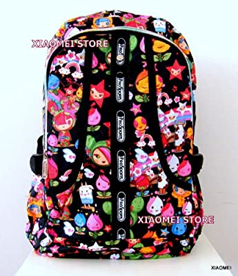 XIAOMEI Colourful Cartoon A4 Backpack L8130A for Travel, Holiday, School or College from XIAOMEI