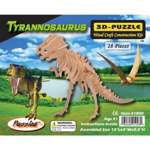 <b>Puzzled T-Rex 3D Jigsaw Puzzle </b>