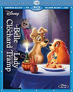 La Belle et le Clochard: Édition Diamant / Lady and the Tramp: Diamond Edition (Bilingual Blu-ray Combo Pack) [Blu-ray + DVD]