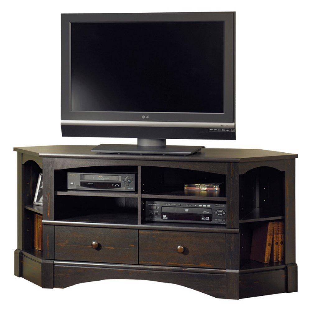 Corner tv stand antique entertainment center media storage Tv media stands