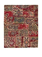 Eden Carpets Alfombra Pacthwork Rojo/Multicolor 300 x 242 cm
