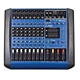Webetop GM8 8 Channel 16 DSP Professional Audio Mixer with USBSD Music Player