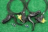 マグラ(MAGURA) 軽量 油圧 ディスクブレーキ MT2 2013モデル ローター無 前後セット ブラック