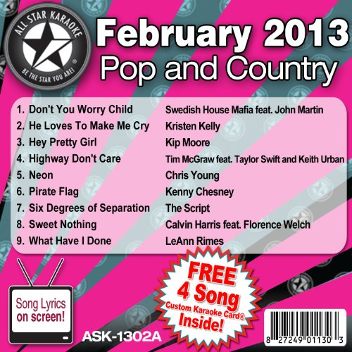 Calvin Harris - All Star Karaoke February 2013 Pop And Country Hits A (Ask-1302a) - Zortam Music