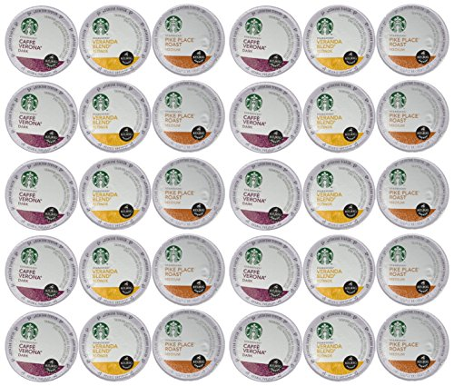 Starbucks Coffee K-Cups for Keurig Brewer 30 Piece Variety Pack (Keurig Pods Starbucks Coffee compare prices)