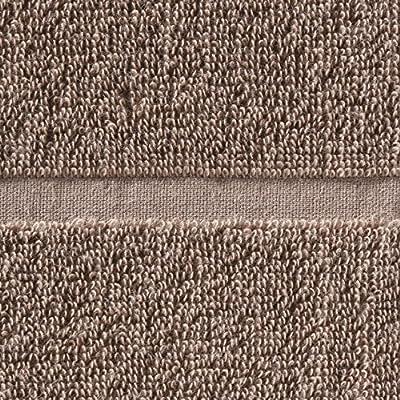 無印良品 オーガニックコットン混その次があるやわらかフェイスタオル/ライトブラウン 34×85cm