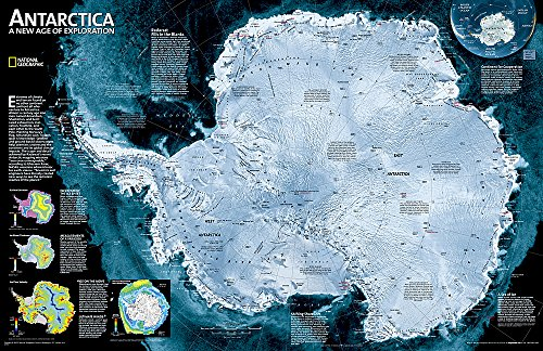 antarctica-satellite-laminated-national-geographic-reference-map