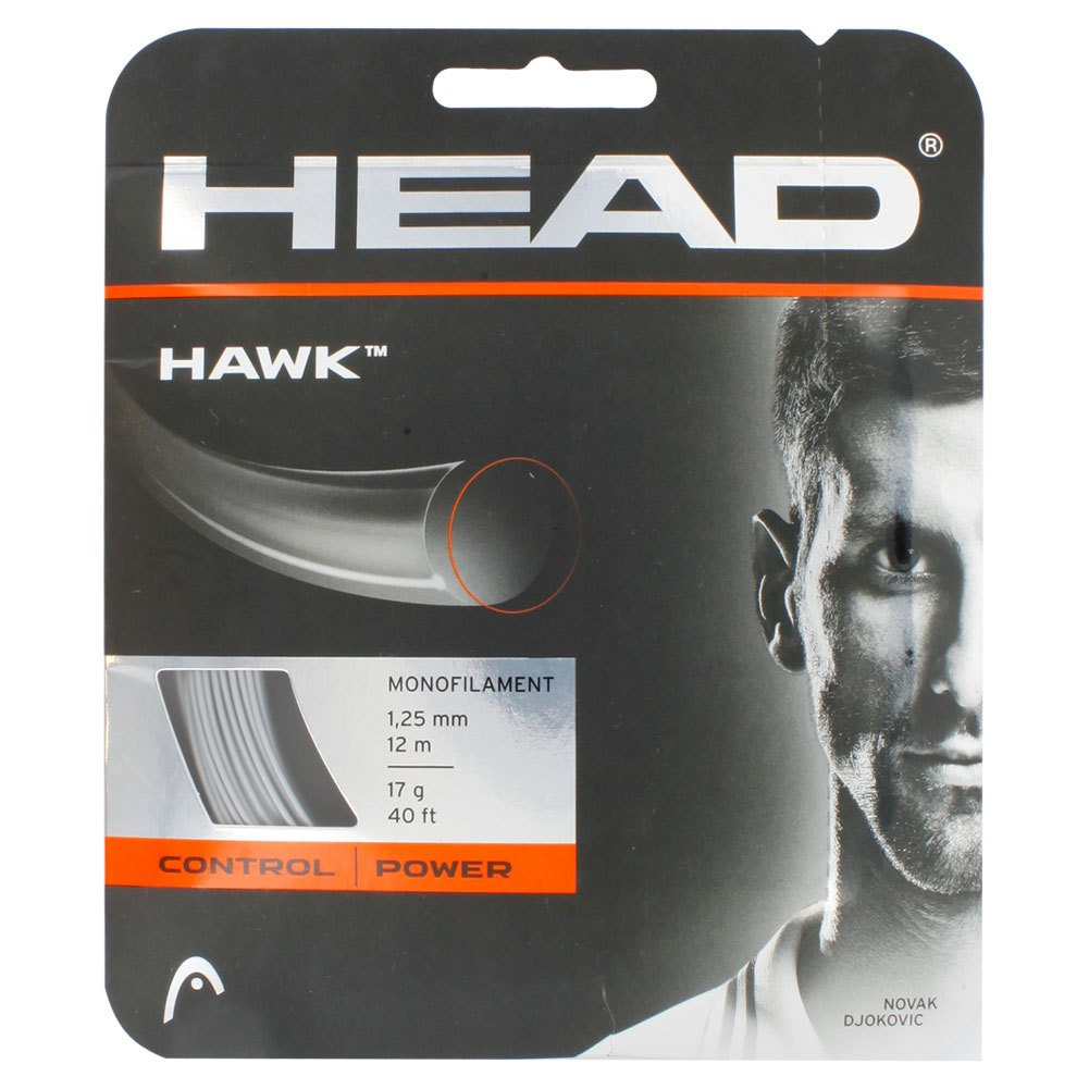 Hawk 17G Tennis String Platinum high elastic flower line tennis string durable tennis line 200m roll