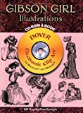 img - for Gibson Girl Illustrations CD-ROM and Book (Dover Electronic Clip Art) book / textbook / text book