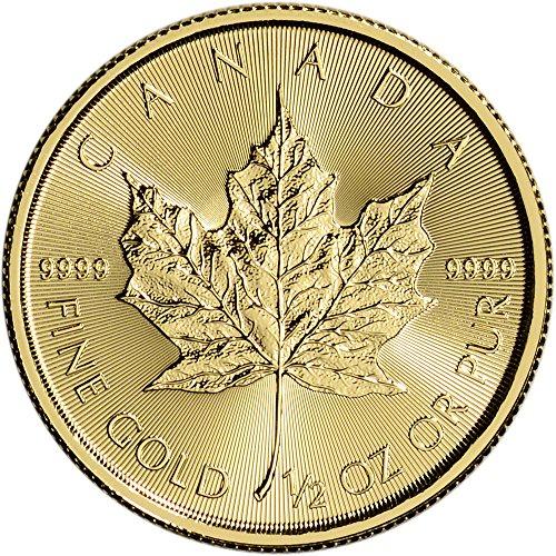 2016 Canada Gold Maple Leaf (1/2 oz)