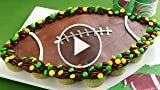 How to make pull-apart football cupcakes