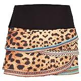 Women`s Cheetah Bead Tennis Skirt Print