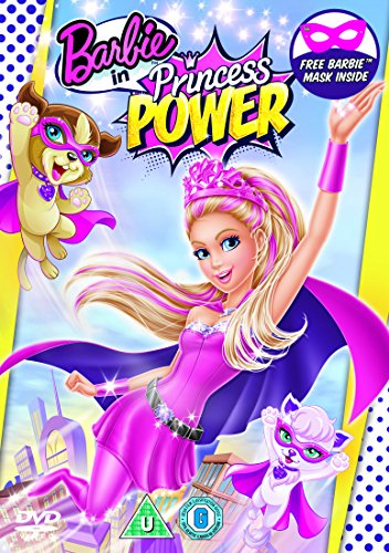 Barbie in Princess Power  (includes Barbie Mask) [DVD] [2015]