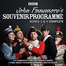 John Finnemore's Souvenir Programme: The Complete Series 3 & 4 (       UNABRIDGED) by John Finnemore Narrated by John Finnemore, Carrie Quinlan, a full cast