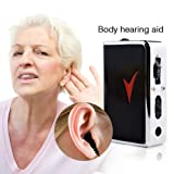 Hearing Amplifier Pocket Voice Enhancer Device For Sound Devices And Hearing Assistance Volume Control Low Distortion Low Noise HOJZ
