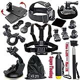 Black Pro Basic Common Outdoor Sports Kit (13 Items)