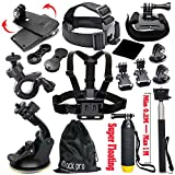 Black-Pro-Basic-Common-Outdoor-Sports-Kit-13-Items