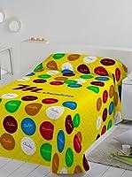 Colcha Bouti Colour (Amarillo)