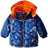 iXtreme Baby Boys' Digital Camo Puffer, Navy, 12 Months Size: 12 Months Color: Navy, Model: IX64073, Newborn & Baby Supply