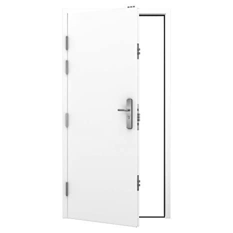 Latham's Heavy Duty High Security Steel Door - LH Hinged - Inward Opening (745x2020)