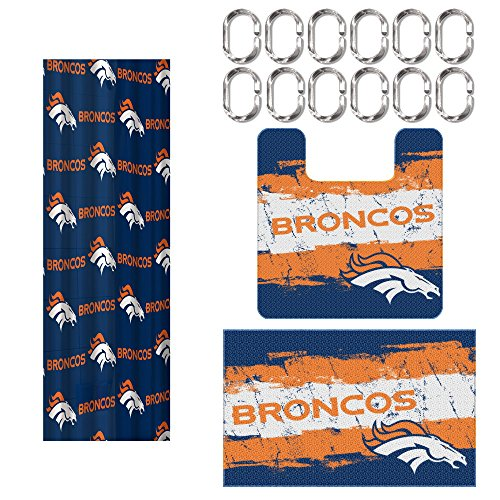 Denver Broncos Curtains