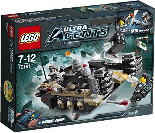 Lego Ultra Agents 70161 Tremors Kettenfahrzeug, 1Stück