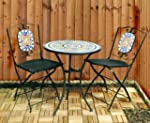 Kingfisher FSBM Mosaic Bistro Set