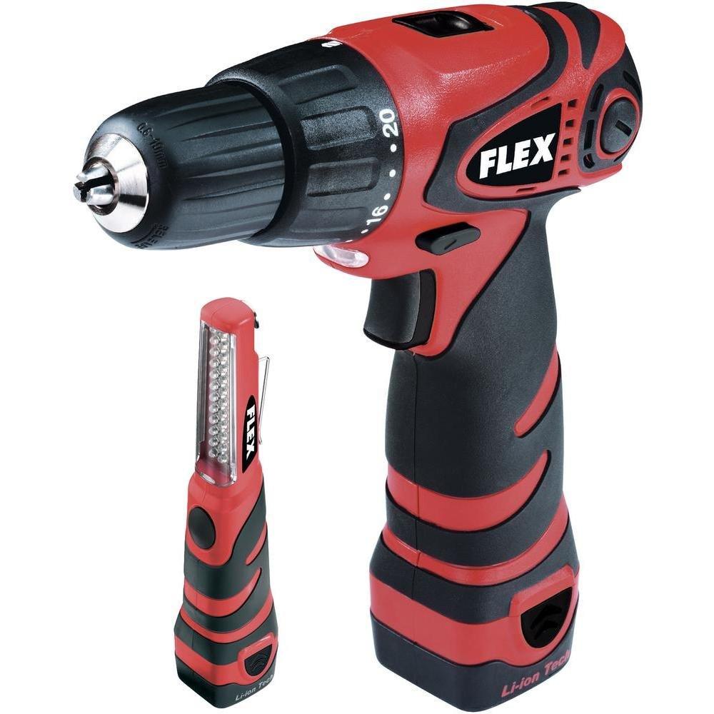 Flex Ali 10,8 G AkkuBohrschrauber, inkl. Koffer & LEDLampe  BaumarktKundenbewertung und weitere Informationen