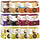 Nescafé Dolce Gusto Capsules All-inclusive Set, 51 Capsules – 36 Servings